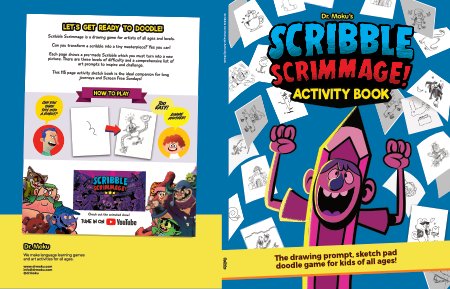 Scribble Scrimmage: A book made with Affinity Publisher