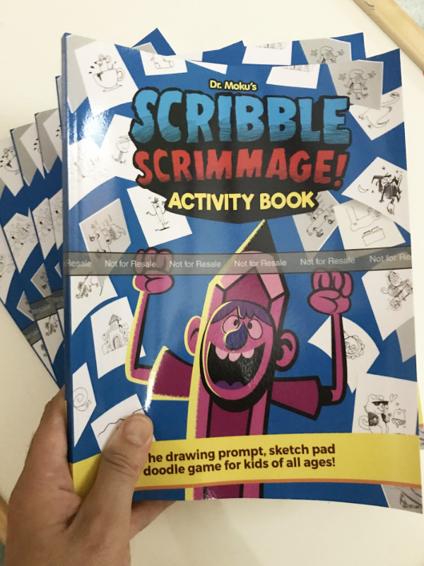 doodle book game