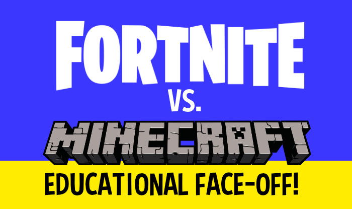 FORTNITE VS MINECRAFT EDUCATIONAL GAME
